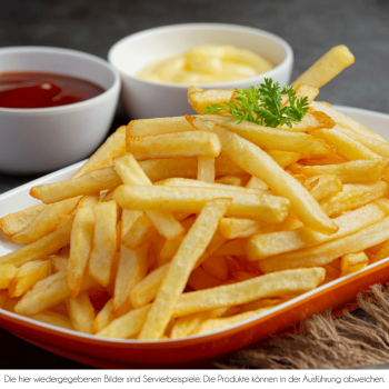 Pommes inkl. Mayo & Ketchup